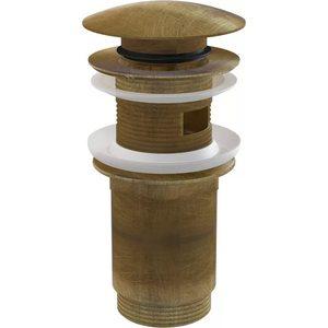 Донный клапан AlcaPlast для раковины бронза (A392-ANTIC)