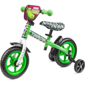 Cosmic Zoo Беговел для малышей с доп.колесиками Ballance Зеленый (динозаврик) (472734/цв 472742)