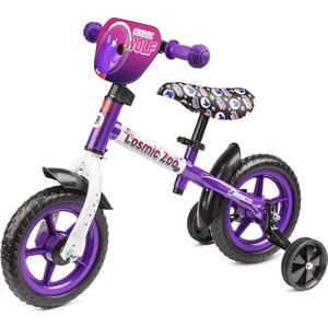 Cosmic Zoo Беговел для малышей с доп.колесиками Ballance Фиолетовый (волк) (472734/цв 472747) беговел cosmic zoo ballance оранжевый тигренок