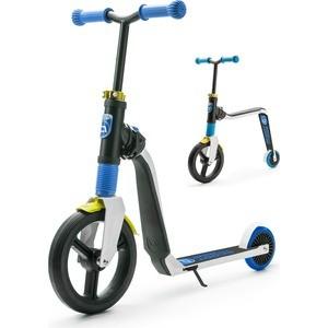 Scoot and Ride Беговел-самокат Highway Freak 2016 new бел-син-желт (1152720/цв 1152723)