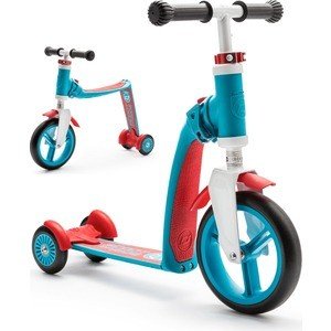 Scoot and Ride Самокат-беговел трансформер Highway Baby Plus Сине-красный (950888/цв 950894) re tp scoot