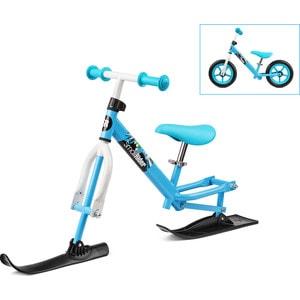 Small Rider Беговел с лыжами и колесами Combo Racer (2 в 1) бело-синий (14721/цв 379956)