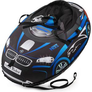 Small Rider Надувные санки-тюбинг Snow Cars 2 черно-синий (332136/цв 332794)