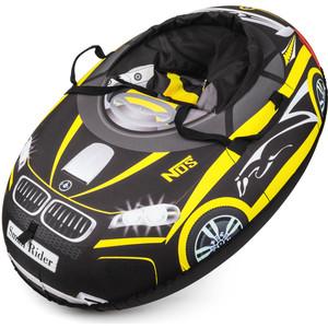 Small Rider Надувные санки-тюбинг Snow Cars 2 черно-желтый (332136/цв 332796)