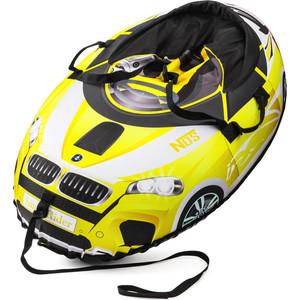 Small Rider Надувные санки-тюбинг Snow Cars 2 желтый (332136/цв 332802)