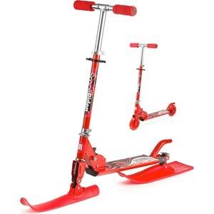 Small Rider Самокат с лыжами и колесами Combo Runner (2 в 1) Красный (1186439/цв 1186442)