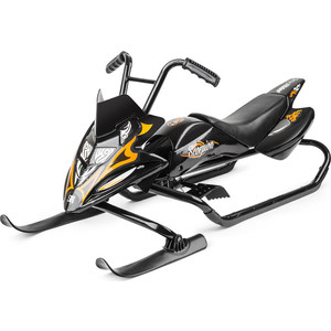 Small Rider Снегокат-снегоход Scorpion черный с оранжевым (1184515/цв 1184516) технопарк снегоход