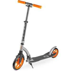 Zycom Самокат с большими колесами Easy Ride 230 оранжево-серый (1149139/цв 1149150)
