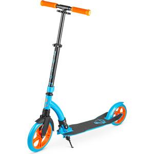 Zycom Самокат с большими колесами Easy Ride 230 оранжево-голубой (1149139/цв 1149156)