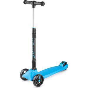 Самокат 3-х колесный Zycom со складной ручкой Zinger Maxi XL черно-синий (1149138/цв 1149164) самокат 3 х колесный 21st scooter 21st scooter самокат 3 х колесный maxi scooter с сиденьем синий