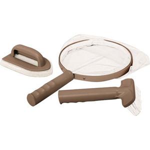 Набор для чистки Intex 28004 СПА-бассейнов (сачок, щетка, скребок вотерлинии) сачок большой