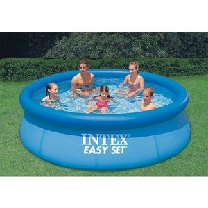 Надувной бассейн Intex 28143/28143NP Easy Set 396х84см бассейны intex easy set 366х76 см