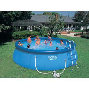 Фотография товара надувной бассейн Intex 28176 Easy Set 549х122см (632643)
