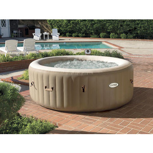 СПА-бассейн Intex 28404 Bubble Massage 145х196х71см (с круговым пузырьковым массажем)