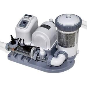 Хлоргенератор Intex 28674 Krystal Clear (система морской воды с фильтр-насосом для бассейна до 26500л ) фильтр intex 28638