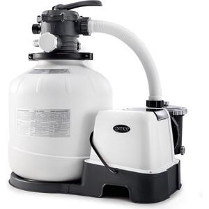 цена на Хлоргенератор Intex 28680 (система морской воды с песочным фильтр-насосом 10000л/ч для бассейна до 56.8м3)