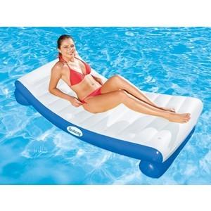 Надувной шезлонг Bestway 43107 для отдыха на воде 177х94 см