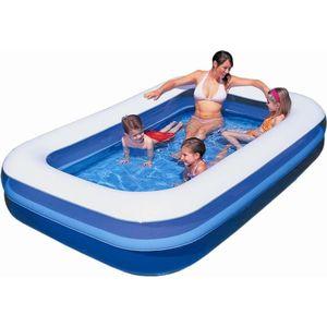 Надувной прямоугольный бассейн Bestway 54009 (305х183х56 см)