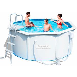 Стальной бассейн Bestway 56285 Hydrium Pool Set 360х120см