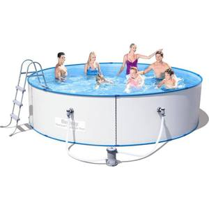 Стальной бассейн Bestway 56377 Hydrium Splasher Pool Set 360х90 см jilong prompt set pool 450х90