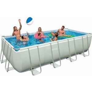 Фотография товара бассейн каркасный Bestway 56390 прямоугольный 488х274х122 см (632786)