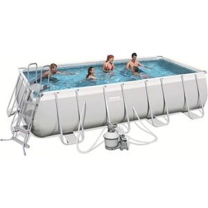 Фотография товара бассейн каркасный Bestway 56481/56332 прямоугольный 488х274х122 см (632790)
