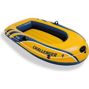Надувная лодка Intex 68365 Challenger 1 (до 100кг) 193х108х38см intex надувная лодка explorer pro 300 intex