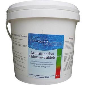 АкваДоктор Комбинированное средство на основе хлора, средство против водорослей, флокулянт, 5кг