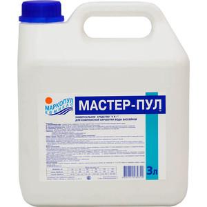 цены  Мастер-пул Маркопул Кэмиклс М21 3л жидкое безхлорное средство 4 в 1
