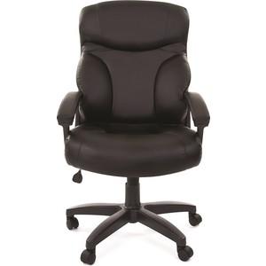 Офисное кресло Chairman 435 LT экопремиум черная офисное кресло chairman 429 экопремиум серый ткань 10 356 черная