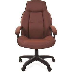 Офисное кресло Chairman 436 LT экопремиум коричневый