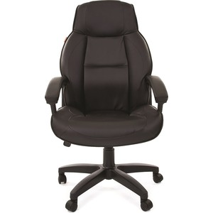 Офисное кресло Chairman 436 LT экопремиум черная офисное кресло chairman 429 экопремиум серый ткань 10 356 черная