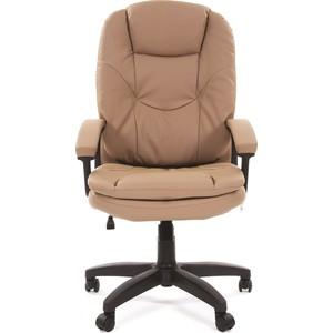 Офисное кресло Chairman 668 LT экопремиум бежевый офисное кресло chairman 429 экопремиум серый ткань 10 356 черная
