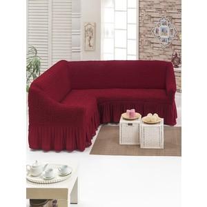 Чехол для углового дивана Do and Co (8209 бордовый)