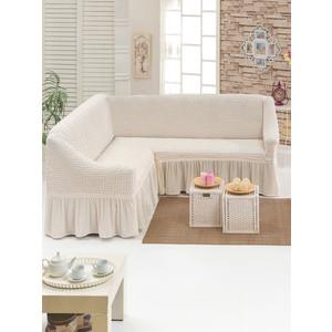 Чехол для углового дивана Do and Co (8209 кремовый)
