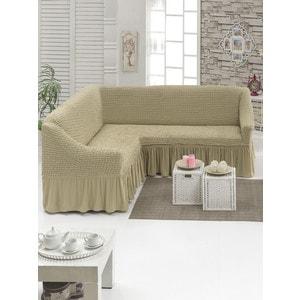 Чехол для углового дивана Juanna (8209 молочный)