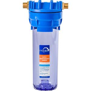 Фильтр предварительной очистки Гейзер 1 П 1/2''х3/4'' прозрачный (32008)