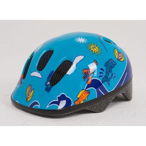 Шлем Moove&Fun BELLELLI сине-голубой с дельфинами размер: M, 80028-M велокресло bellelli tiger standard grey white 80097