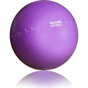 Гимнастический мяч Original Fit.Tools 75 см для коммерческого использования FT-GBPRO-75