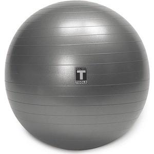 Гимнастический мяч Body Solid ф55 см, серый BSTSB55