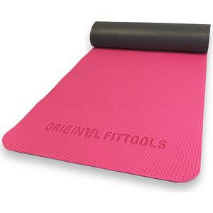 Коврик Original Fit.Tools для йоги двуслойный 8 мм FT-YGM-DS08