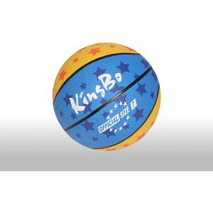 Мяч Moove&Fun баскетбольный размер 7, многоцветный, материал резина, (вес 570-600 гр в надутом состоянии) KingBo KBRB-701