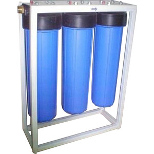 Фильтр предварительной очистки Гейзер 3И20ВВ (БА) на раме (32061)