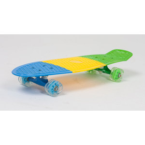 Скейт Moove&Fun пластиковый (27X8'') трехцветный PP2708-2