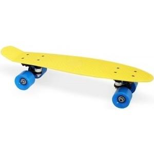Скейт Moove&Fun пластиковый 22х6'', желтый, PP2206-1 yellow