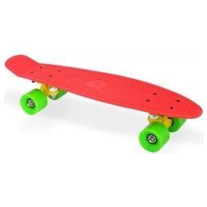 Скейт Moove&Fun пластиковый 22х6'', красный, PP2206-1 red