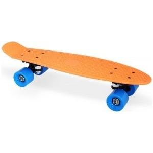 Скейт Moove&Fun пластиковый 22х6'', оранжевый, PP2206-1 orange