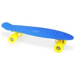 Скейт Moove&Fun пластиковый 22х6'', темно-синий, PP2206-1 navy blue