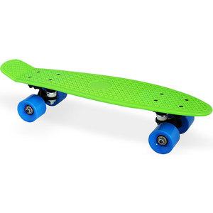 Скейт Moove&Fun пластиковый 22х6''-1, зеленый, PP2206-1 green