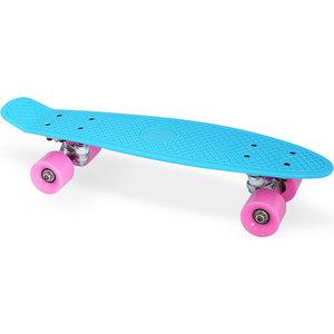 Скейт Moove&Fun пластиковый 22х6''-1, синий, PP2206-1 blue